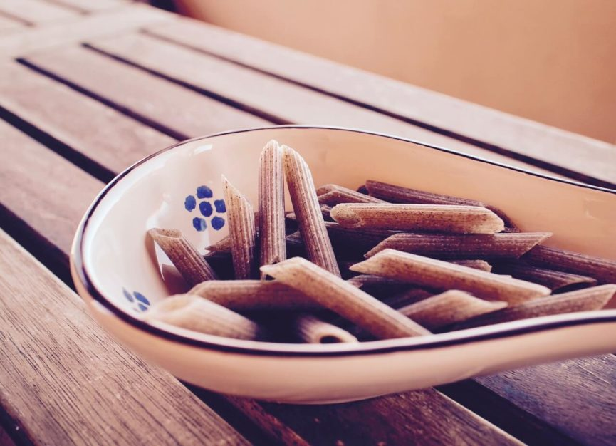 Selbstgemachte Pasta ohne Gluten